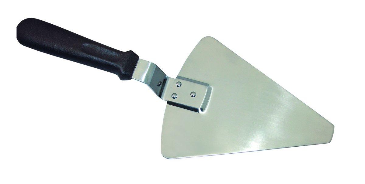 Blade: 410 S//P.Plastic Hdl N Brown Stainless Steel Pizza Server Update International PZ-SVR