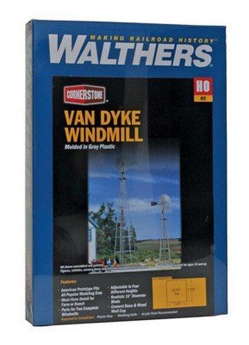 Walthers Cornerstone Series Kit HO Scale Van Dyke Farm Windmill