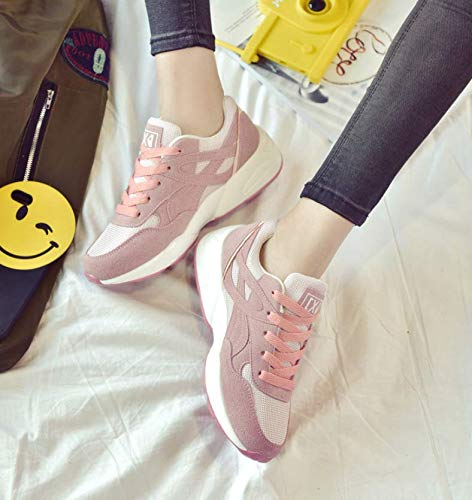 CXIGUA Sneaker Clunky Chaussures pour Femmes Femmes pour Chaussures De Sport Running Wild Mesh Chaussures Relaxes pour ÉtudiantsB07HKW9V45Parent 54f518