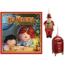 Macy's Yes Virginia 3-Piece Christmas Gift Set Pack: Book, 2012 Santa & Mailbox Ornament
