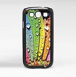 Rainbow Flower Petals Hard Snap on Phone Case (Galaxy s3 III)