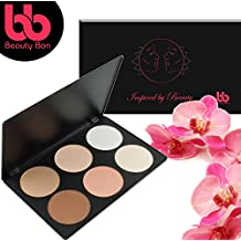 Contour kit, 6 Colors Professional Face Sculpting, Camouflage and Concealing Powder Makeup Blush Palette, By Beauty Bon®