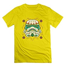 Men's Funny Star Wars Funny T Shirt Size XXL Color Yellow
