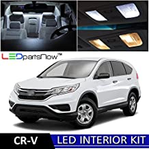 LEDpartsNow Honda CR-V CRV 2013-2017 Xenon White Premium LED Interior Lights Package Kit (11 Pieces)