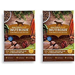Rachael Ray Nutrish Natural Dry Dog Food (2 Pack, Turkey, Brown Rice & Venison Recipe)