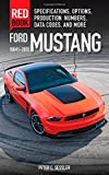 Ford Mustang 1964 1/2-2015: Specifications, Options, Production Numbers, Data Codes and More