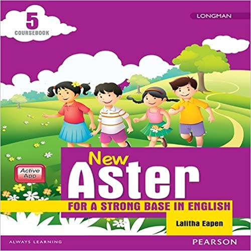 Book New Aster: Coursebook by Pearson for CBSE class 5
