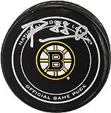 David Pastrnak Boston Bruins Autographed Official Game Puck - Fanatics Authentic Certified - Autographed NHL Pucks