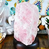 Rose Quartz Crystal Lamp, Best quality Rose Quartz Lamp. Authentic Yellow Tree Company Lamp, Better than Himalayan Salt Lamp, Rose Quartz Lamp RQL.