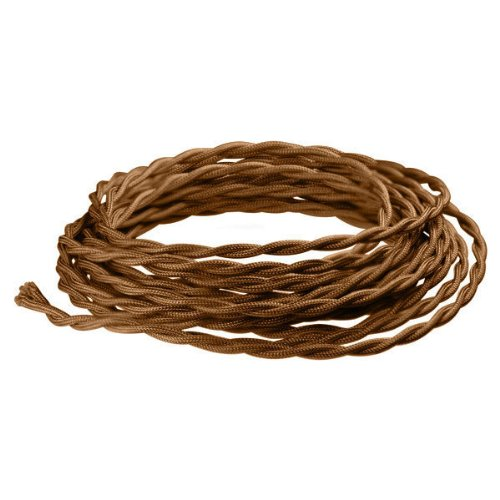 8 ft. - Rayon Antique Wire - Light Bronze - 18 Gauge - Twisted Cord