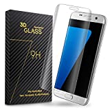 Ucharm Transparent 3D Curved Tempered Glass Screen Protector for Samsung Galaxy S7 Edge