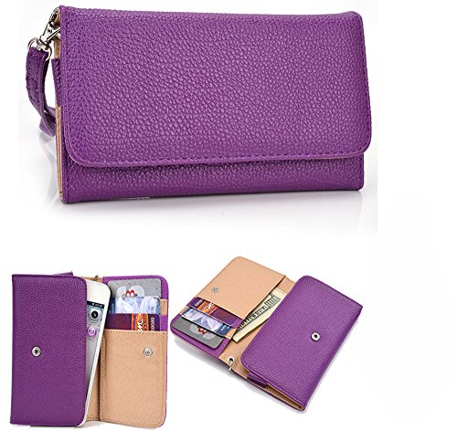 NuVur Universal Smartphone ::Card Slots:: Wallet Clutch W...