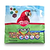 Kaytee Exact Rainbow Chunky Parrot Food, 10-lb bag