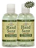All Terrain Hand Sanitizer Gel With Aloe & Vitamin E 8 oz, Pack of 2, Bundle, Moisturizing Hand Sanitizing, Carbomer-free