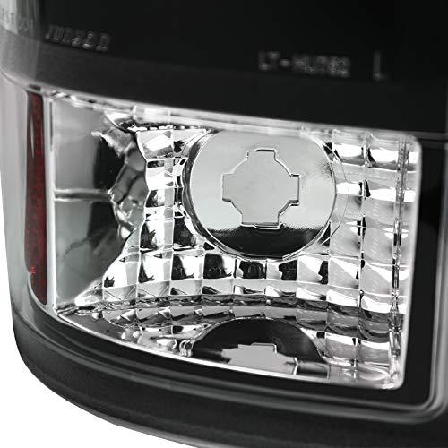 Spec-D Tuning LT-F25008JMLED-TM Black Tail Light Led
