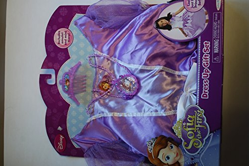 [Disney Princess Sofia the First Dress Up Gift Set] (Sofia The First Dress Up Costume)