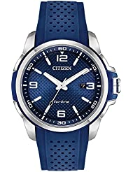 Citizen AW1158-05L AR Mens Watch Blue 45mm Stainless Steel