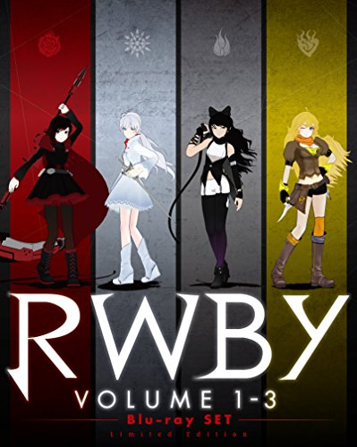 RWBY VOLUME 1-3 Blu-ray SET