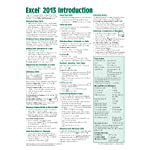 Microsoft Excel 2013 Introduction Quick Reference Guide (Cheat Sheet of Instructions, Tips & Shortcuts – Laminated Card)