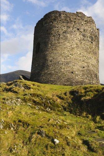 Dolbadarn Castle Above Llanberis Gwynedd North Wales UK Journal: 150 page lined notebook/diary Dolbadarn Castle