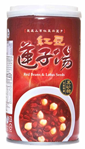 Lotus Dessert (红豆莲子汤 Red Bean & Lotus seeds Congee Porridge Dessert Soup 11.2 fl oz (pack of 6))
