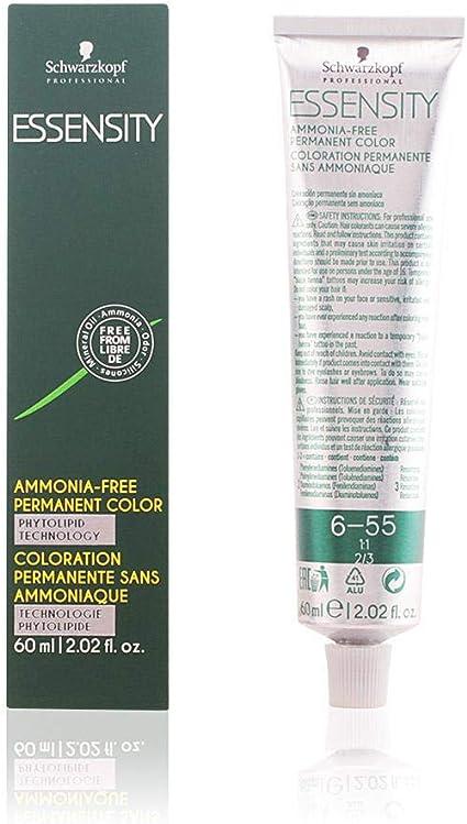 Schwarzkopf Professional Essensity Permanent Color Ammonia Free Tinte Tono 6-55 - 71 ml