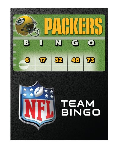 NFL Green Bay Packers Bingo (Wrigley Field Green)