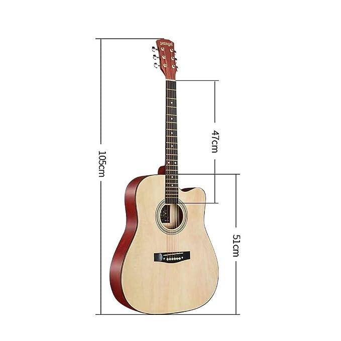 Boll-ATur Guitarra for principiantes de 38 pulgadas / 41 pulgadas ...