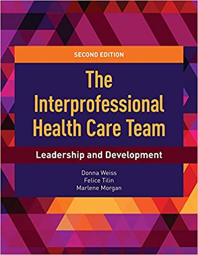 "Picture of book with title ""The Interprofessional Healthcare Team"""