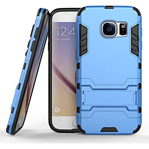 Galaxy S7 Case, Pasonomi [Slim Fit] [Kickstand Feature] Hybrid Dual Layer Armor Defender Full Body Protective Case Cover for Samsung Galaxy S7 (Blue) Sales