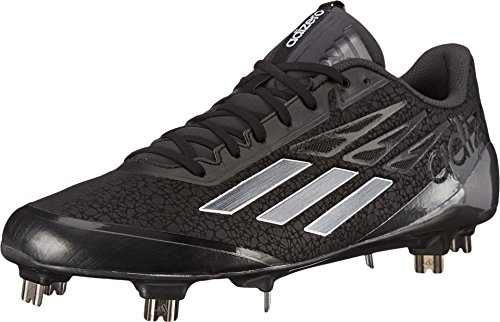 adidas New Adizero Afterburner Baseball Metal Cleats Black/Carbon Size 10 M