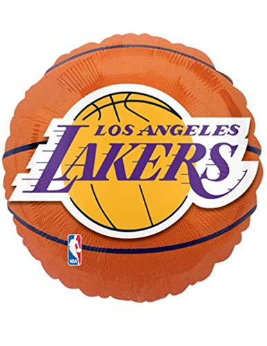 Anagram International Los Angeles Lakers Flat Party Balloons, 18