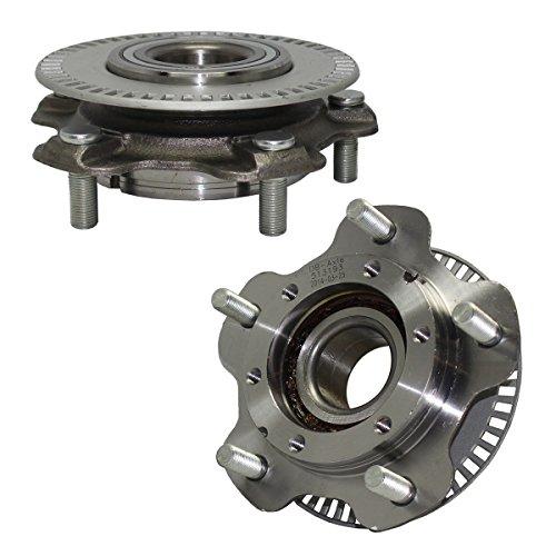 Brand New (Both) Front Wheel Hub and Bearing Assembly for Grand Vitara, Tracker, Vitara, XL-7 5 Lug W/ABS (Pair) 513193 x2