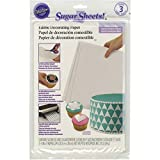 best seller today Wilton 710-2929 Sugar Sheets, White,...