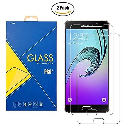[2 Pack] Panzerglas Schutzfolie Samsung Galaxy A7 2016 SM-A710 / A710F - Gehärtetem Glas Schutzfolie Displayschutzfolie für S