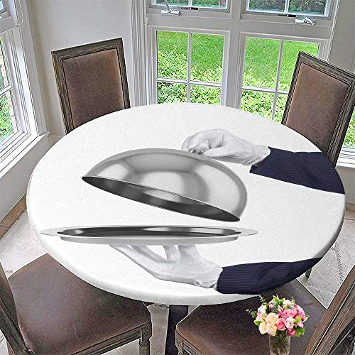 PINAFORE HOME Modern Table Cloth Restaurant Cloche with Open lid Indoor or Outdoor Parties 63