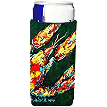 Craw Baby on Green Crawfish Ultra Beverage Insulators for slim cans MW1194MUK