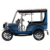MonkeyJack Vintage Style Model Car Automobile Music Box Decor & Photography Props Blue