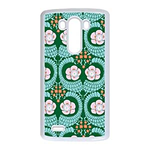 French Twist Jade LG G3 Cell Phone Case White Delicate gift AVS_677299