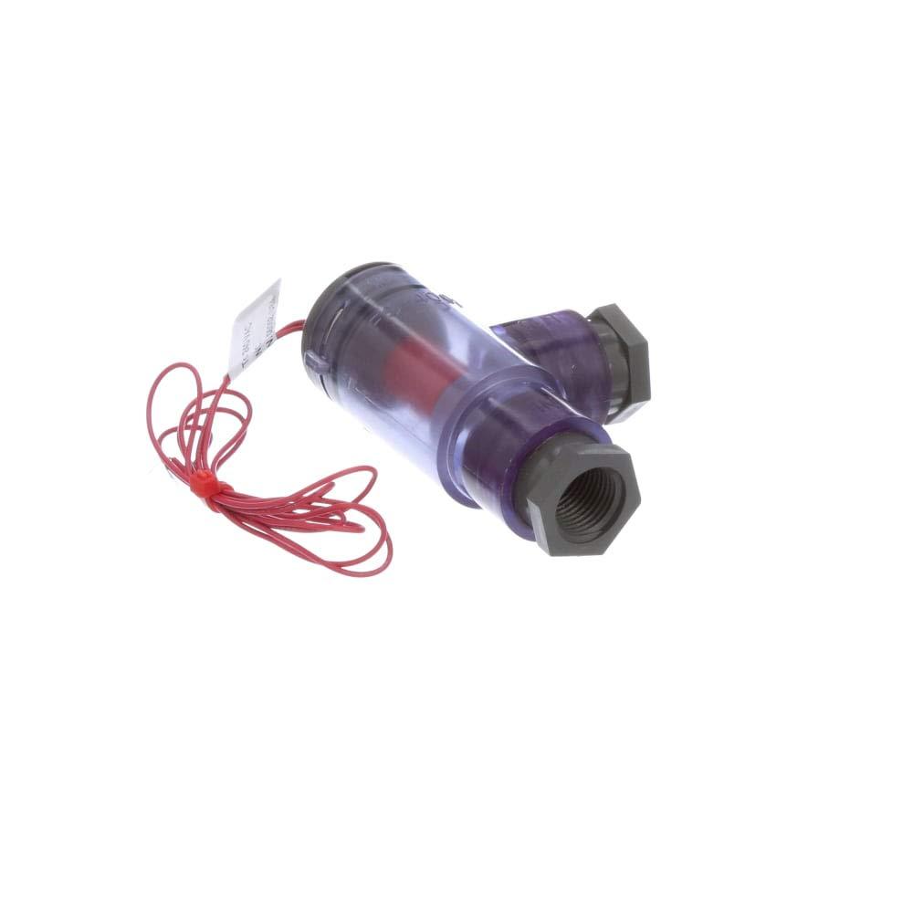 Fluid; Liquid PVC Flow Meter; 8.3bar Pressure; Maximum of 0.5 gal/min