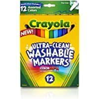 Crayola Fine Washable Markers, 12 Count