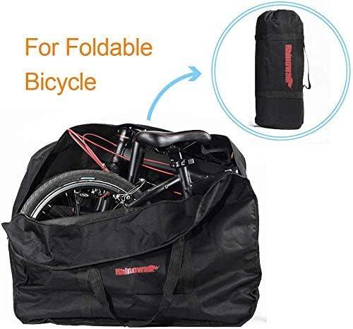 自転車収納袋、バイクトラベルバッグ20インチ - キャンプスポーツアウトドアハンディ旅行のための自転車折りたたみ自転車Rバッグキャリーバッグポーチ