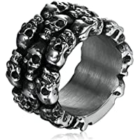 Adisaer Ring Stainless Steel for Men
