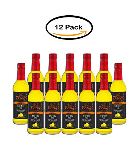 PACK OF 12 - House of Tsang Stir-Fry Cooking Oil, 10 fl oz by _House of Tsang
