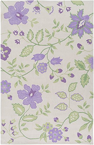 Surya Country & Floral Rectangle Area Rug 5'x7'6