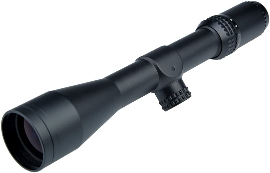 Rifle Scope W//2 Kinds of Mounts Thin Scope Shell TSS New Fortune 3-9x44 30mm
