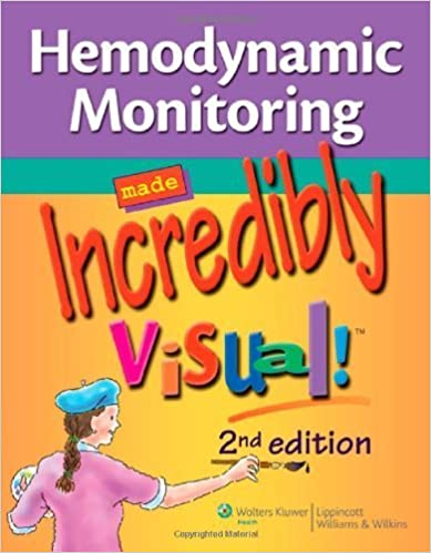 Book Hemodynamic Monitoring Made Incredibly Visual! (Incredibly Easy! Series?) by Lippincott (2010-06-01)