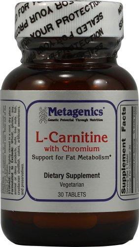Metagenics - L-карнитин с хромом - 30 таблеток