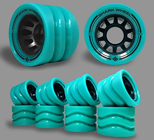 Shark Wheel Wheels Indoor 8 Turquoise