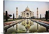 Scott Stulberg Premium Thick-Wrap Canvas Wall Art Print entitled India Taj Mahal 36''x24''